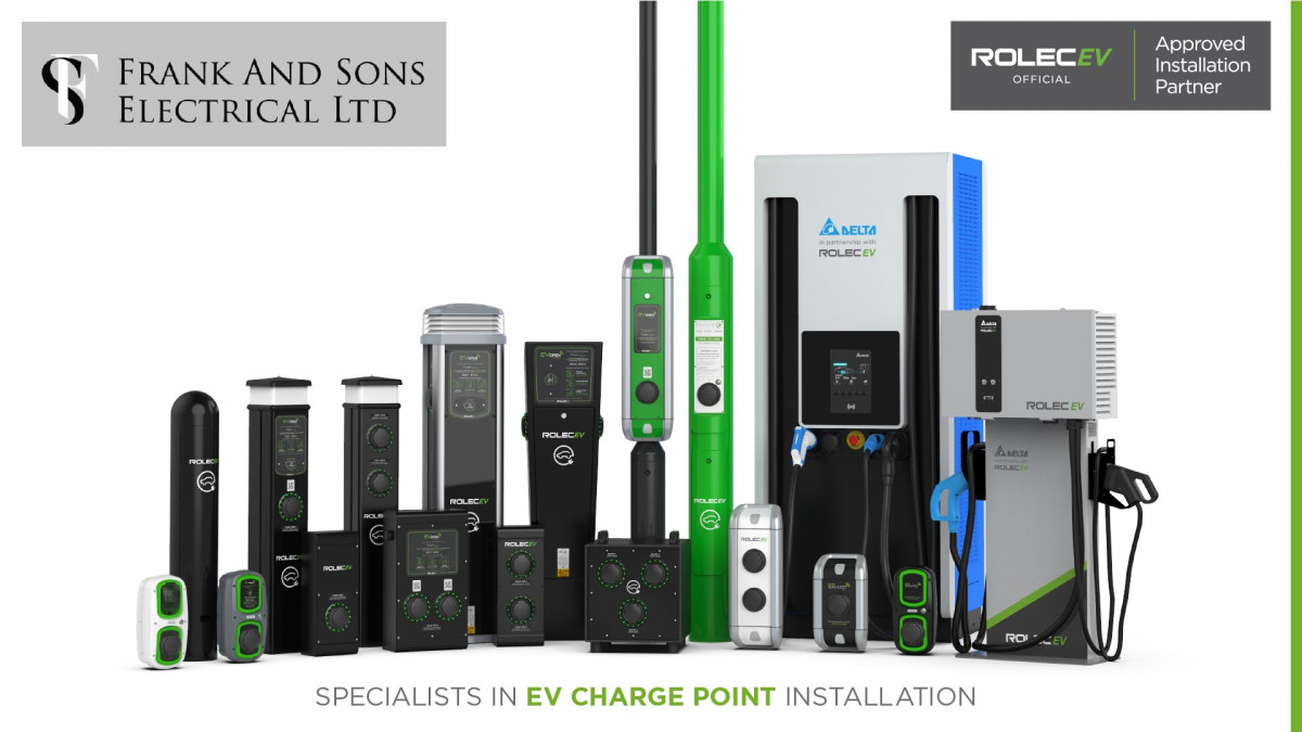 Frank & sons electrical Ltd Image-1-1 EV Car Chargers