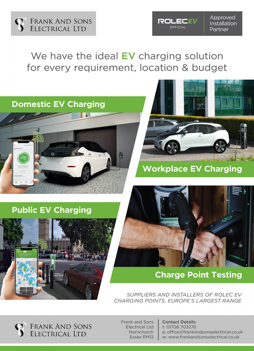 Frank & sons electrical Ltd Image-2-2 EV Car Chargers